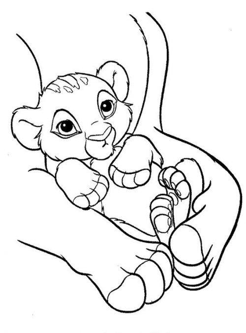 Simba Ausmalbilder