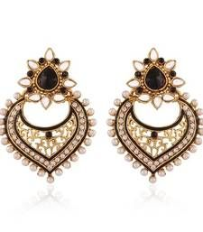 Buy Delicate Gold Plated Jewellery Earrings For Women danglers-drop online