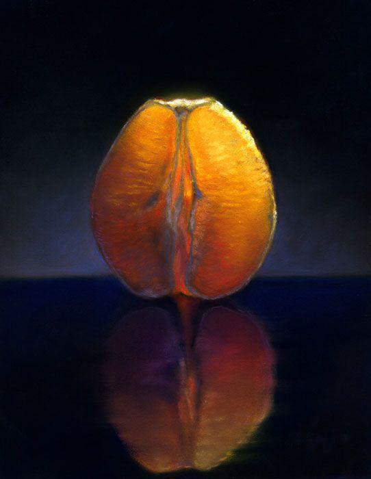 """Nicora Gangi's """"Orange Half"""""""