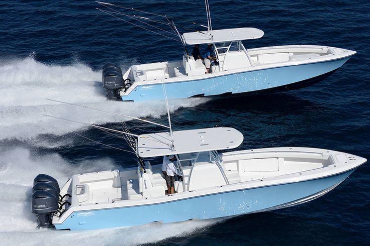 Invincible 39 saltwater deep sea fishing boat