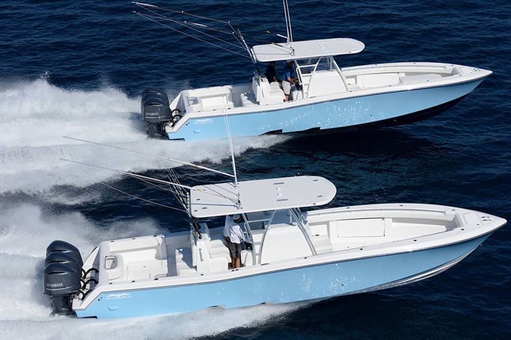 Invincible 39 saltwater deep sea fishing boat