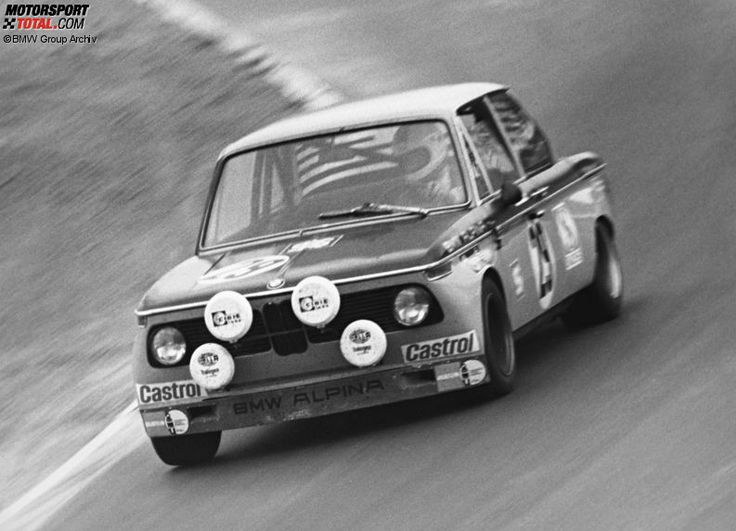Winners of the 24 Hours Race at the Nürburgring – 1971: von Hohenzollern/Pankl - Alpina-BMW 2002