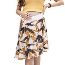 2018 New Fashion Summer Wear Asymmetrical Maternity Skirts Pregnancy Clothes for… – Cute Maternity Clothes