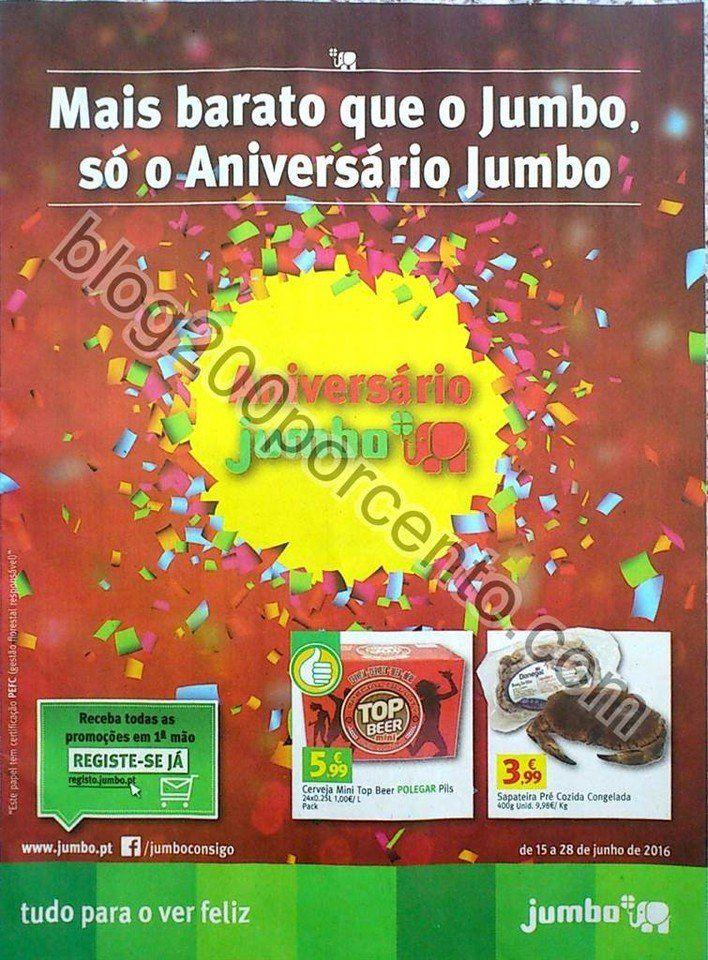 Antevisão Folheto JUMBO Aniversário promoções de 15 a 28 junho - http://parapoupar.com/antevisao-folheto-jumbo-aniversario-promocoes-de-15-a-28-junho-2/