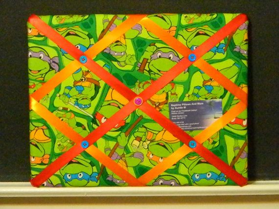 11 x 14 Teenage Mutant Ninja Turtle TMNT by naptimepillowsnmore, $20.00