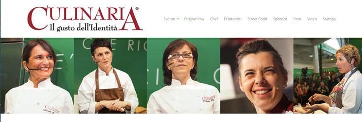 Un evento così non si era mai visto: Culinaria 2014, il primo convegno gastronomico dedicato a loro, alle donne, ma soprattuto grandi chef.  17-18-19 maggio al Mercato Rionale della Garbatella www.culinaria.it