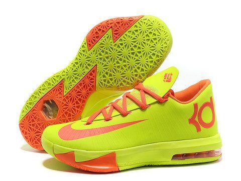 645c0ba653fa Online Sale 2015 Nike KD VI 2013 Blue Orange Grey 599424 088 ...