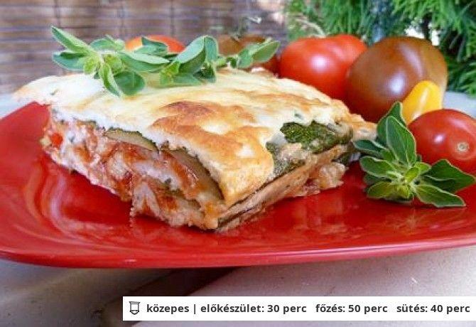Lasagne tészta nélkül