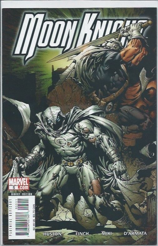 Marvel: Moon Knight #5 (Huston, Finch, Miki, D'Armata) VF
