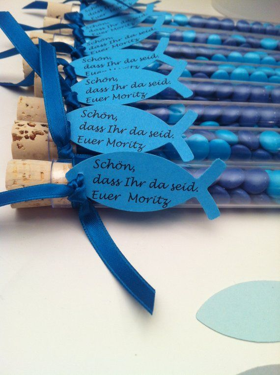 Guest gift-give away-in the test tube-communion-confirmation-baptism. Customizable-Guest gift + decoration in one
