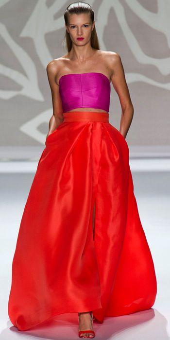 Monique Lhuillier - Runway Looks We Love: Monique Lhuillier - Fashion Week Spring 2014 - Fashion