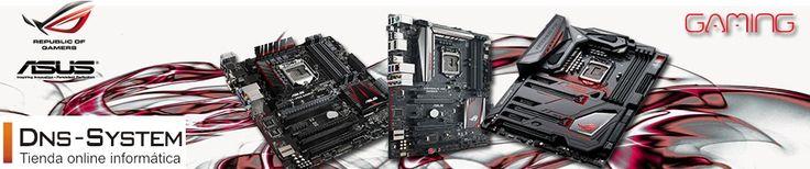 Las placas de gama alta: Gaming, lo mejor para tu pc. Encuéntralas en:  www.dns-system.es https://www.dns-system.es/placa-base-asus-rog-strix-b250f-gaming-atx-s-1151-ddr4-p-3267.html
