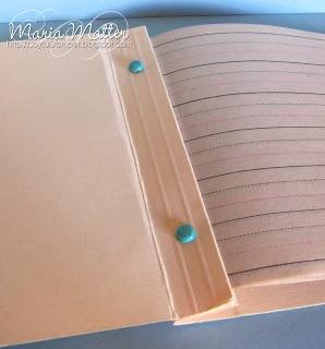 Manila folder notebook