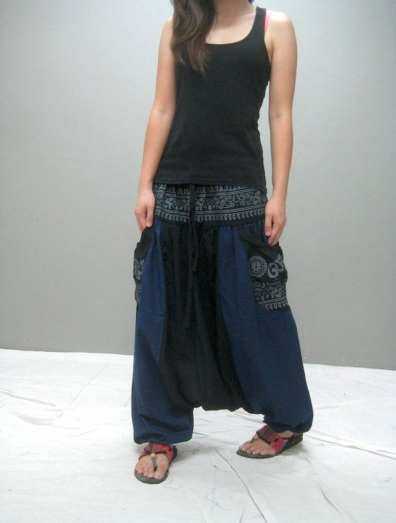 KUMO harem pant ( 226.1) on Etsy, $41.00
