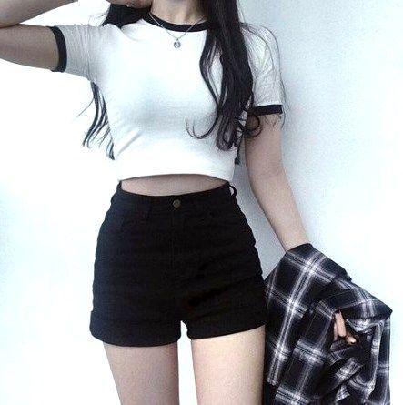45 süße lässige Teenie-Outfits für Urlaub und Wochenende #CasualOutfit #Casual … – Kleidung❤️