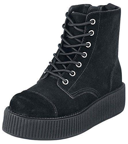 T.U.K. Shoes Women's A8642L Black Suede Boot 8 T.U.K. http://www.amazon.com/dp/B00MPQWFUK/ref=cm_sw_r_pi_dp_qhJowb1Z4FHJJ