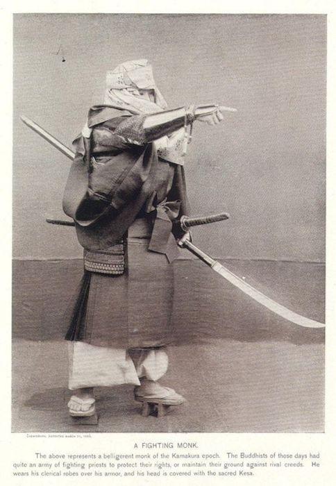 Japanese (Sohei) Warrior Monk of  Kamakura Epoch