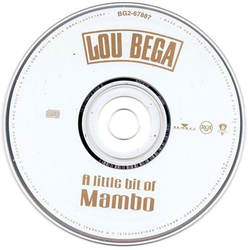 Lou Bega A Little Bit of Mambo 1999 CD Professionally Cleaned