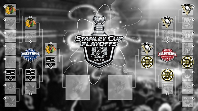 2013 NHL Playoffs Bracket - Conference Finals