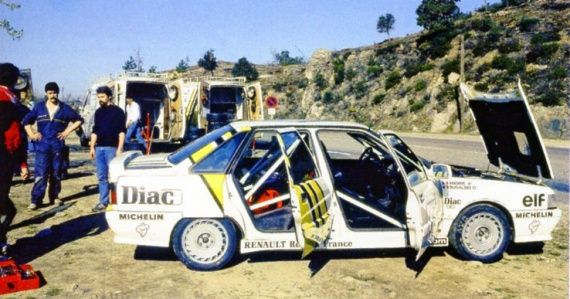 1988 RENAULT 21 TURBO BUGALSKI 11