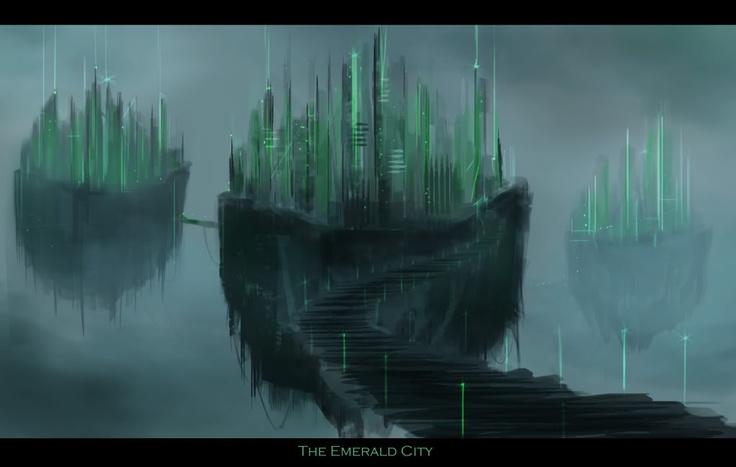 emerald city concept art