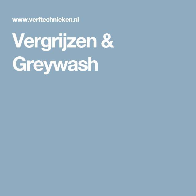 Vergrijzen & Greywash
