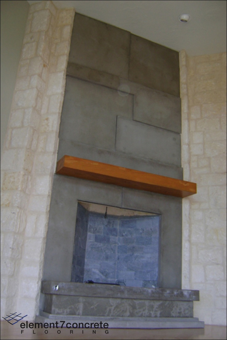 7 best concrete fireplaces images on pinterest concrete