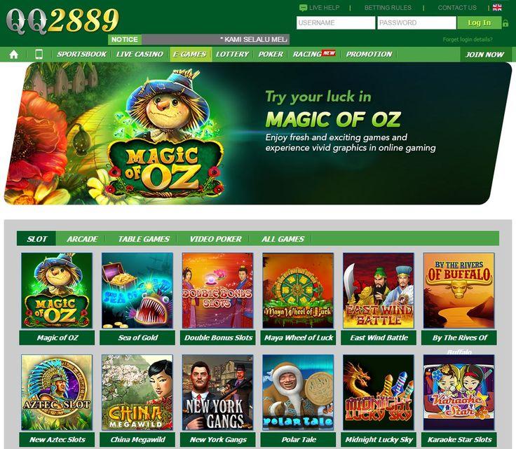 Agen Taruhan Slot Games Online Terbaik dan Terpercaya