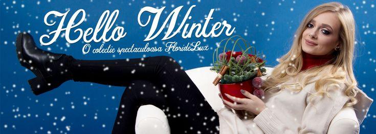🎅🏻 Mai sunt doar 5 zile pana vine Craciunul! 🎅🏻 Incalzeste inima celor dragi cu aranjamente de iarna si buchete de Craciun din colectia spectaculoasa Hello Winter '17 by FlorideLux! Livrare gratuita oriunde in Romania, comanzi si platesti rapid aici: https://www.floridelux.ro/