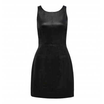 Christina Fitted Leather Dress Buy Dresses, Tops, Pants, Denim, Handbags, Shoes and Accessories Online Buy Dresses, Tops, Pants, Denim, Hand...