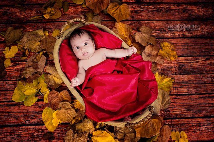 Baby posing