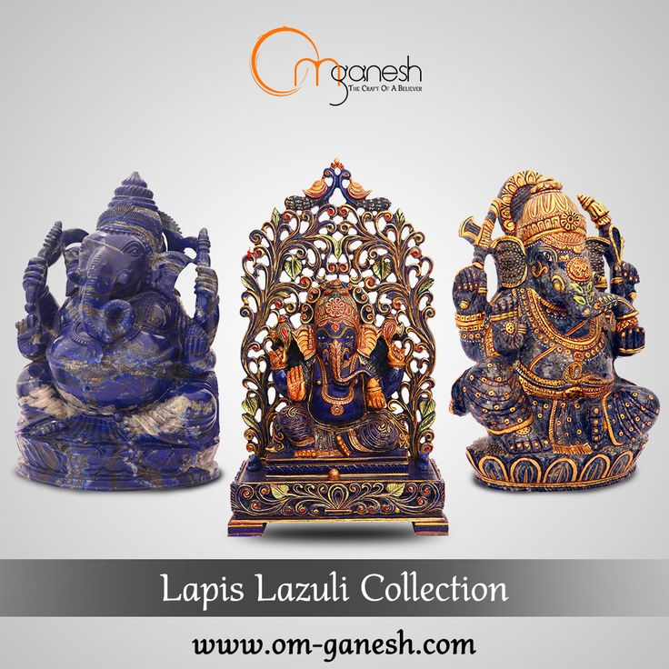 The powers of the deep blue #LapisLazuli Collection are such that they bring forth truth & enlightenment in one's spiritual journey.