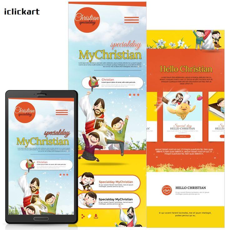 #mobile #template #Christianity #homepage #sample #image #npine #iclickart