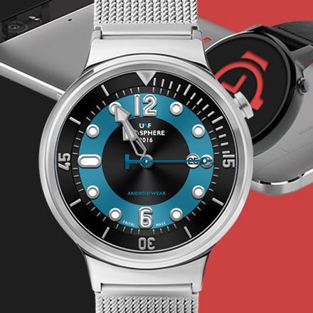 Interactive UWF SeaSphere Watch Face