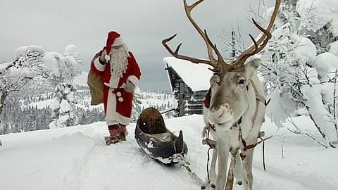 Santa Claus lives in Finland! Did you know that... I bet not!