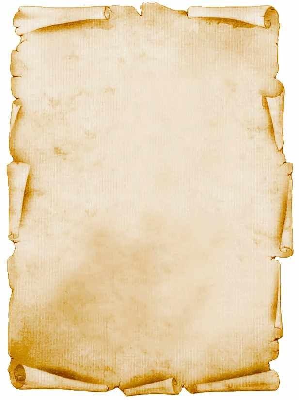Dibujos De Pergaminos Para Caratulas