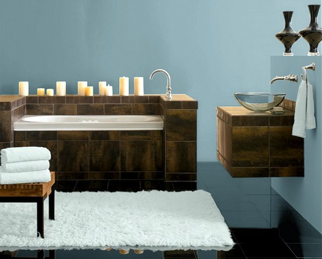 Sherwin Williams Tranquil Aqua Kid Bathroom Paint Colors