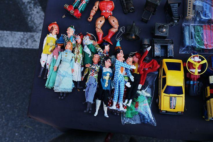 Old toys - Fiera Antiquaria - Arezzo - travel - Tuscany