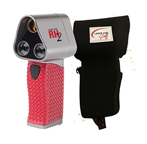 Laser Link Red Hot 2 Golf Rangefinder Bundle with Free Pl...