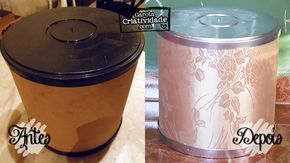 Como reciclar cilindro de papelão