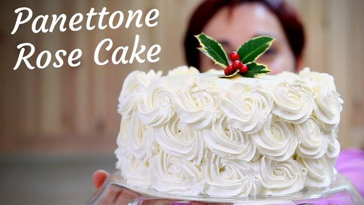 PANETTONE ROSE CAKE Ricetta in 10 minuti - 10 Minutes Panettone Rose Cak...