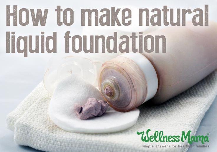 Natural Liquid Foundation Recipe (Wellness Mama)
