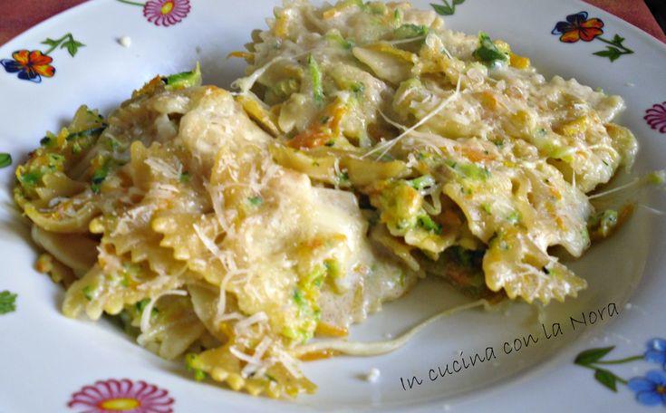 Pasta pasticciata con verdure