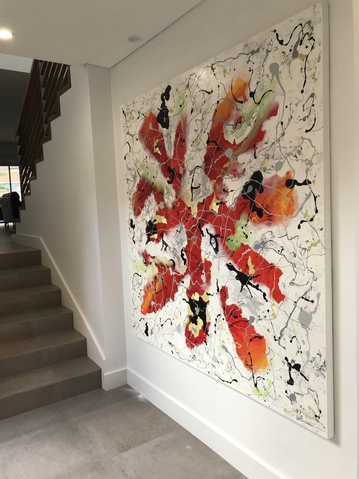 Artwork by Glenn Farquhar 180cm x 180cm created at Art Fusion Studio & Gallery Sydney acrylic on canvas #artfusion #artfusionart #interiordesignart #artideas #interior #design #decorart #artwork #artlessons #artsydney #artstudio #artist #art #customart