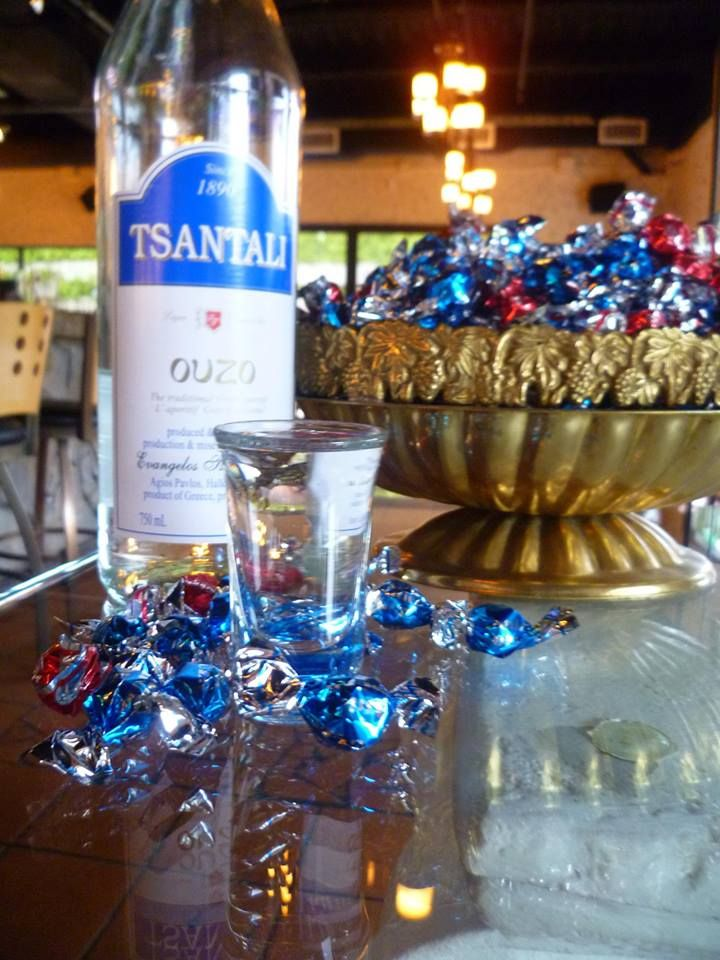 Enjoy this weekend like a Greek! Ouzo is on for only $5.00 all weekend