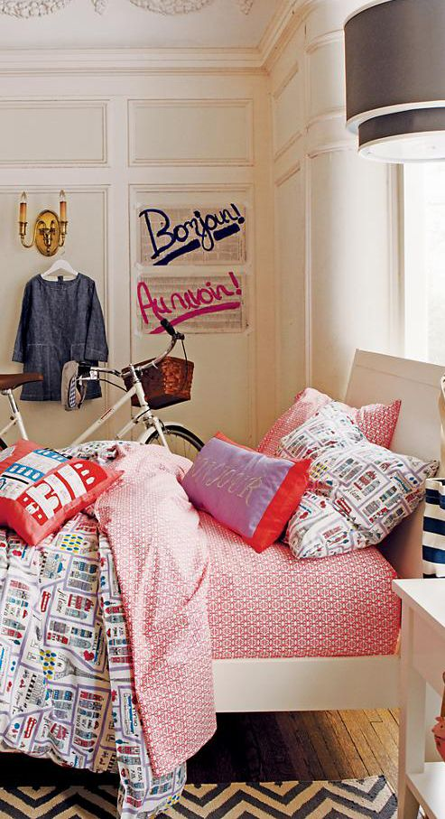 Streets of Paree #girls rooms #kids