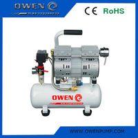 Portable electric dental oil free piston air compressor price
