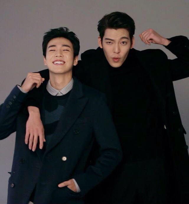 lee hyun woo and kim woo bin for m magazine lee hyun woo