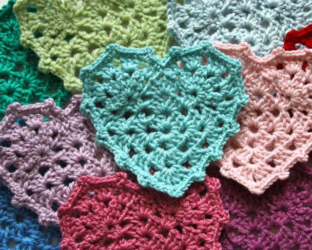 Cherry Heart: Blog: Grannie Heart Tutorial
