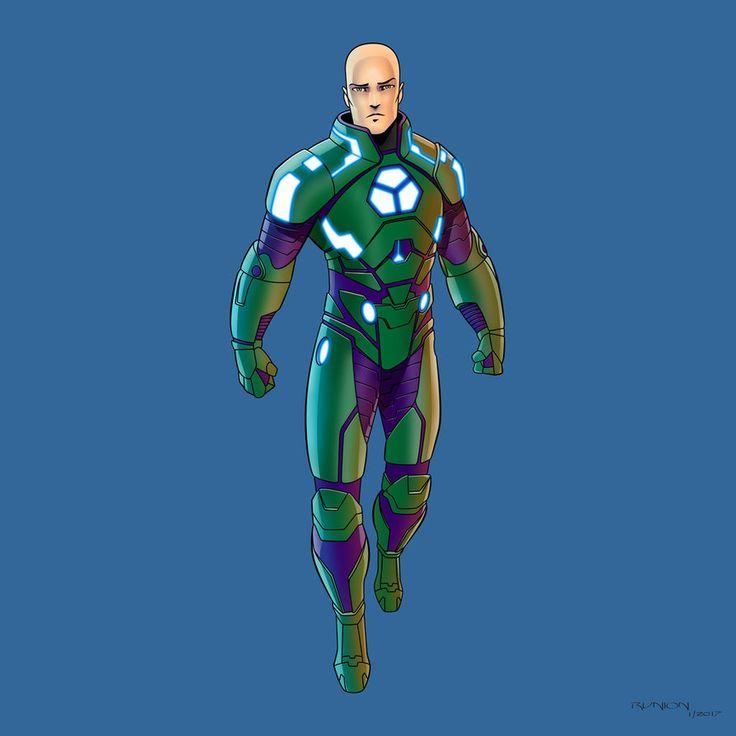 Lex Luthor (Power Suit) by arunion.deviantart.com on @DeviantArt